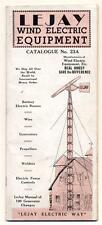 c1938 VINTAGE LEJAY MFG Co CATALOG WIND MILL & Electric Equipment MINNEAPOLIS MN
