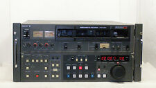 Sony UVW-2800 Betacam SP Studio Player/Recorder with RS-422A, Rack Mount - EUC