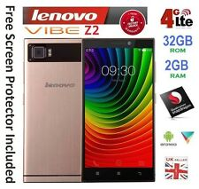 "NEW Lenovo Vibe Z2 MINI 5.5"" Android Smartphone Dual SIM Quad 2GB RAM 32GB GREY"