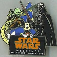 WDW Star Wars Weekends 2006 - Logo (Mickey Mouse) Pin