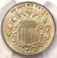 1883 Shield Nickel (5C Coin) - Certified PCGS Uncirculated Details (MS BU UNC)