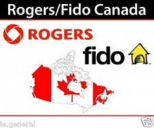 Canada Rogers & Fido iPhone unlock 3GS/4/4S/5/5S/5C/6/6P/6S/6SP/SE/7/7P