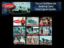 Unstoppable Cards CAPTAIN SCARLET Base Card Set - all 54 Cards