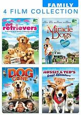 The Retrievers, Miracle Dogs, Dog Gone, Aussie & Ted's Great Adventure (DVD) NEW