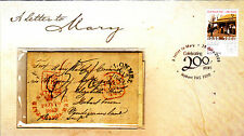 """2009 Australia Post 200 Years """"""""A Letter To Mary"""""""" Prestige FDC"""