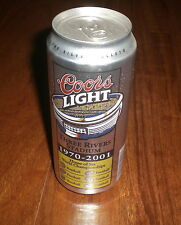 STEELERS THREE RIVERS STADIUM COORS LIGHT 16 OZ. BEER CAN - BO