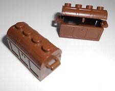 Lego (4738/4739) 2 Schatztruhen, in braun aus 6573, 6096, 6032, 8456,....