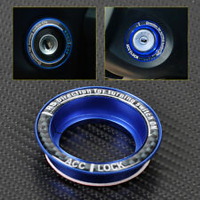 Blue Car Ignition keyhole decoration Ring protector for 2005-2012 Ford Focus