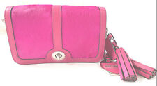 NEW Coach Legacy PENNY Pink Hair Calf Leather Shoulder Crossbody Bag 21156 $398