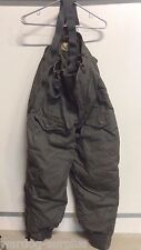 VTG USAF AIR FORCE F-1B F 1 B EXTREME COLD WEATHER TROUSERS SNOW PANTS BIBS NOS