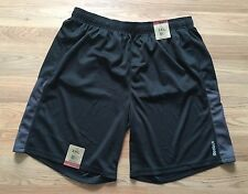 NWT Men's REEBOK Black Gray Active Shorts Size 3XL XXL