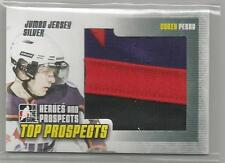 2009-10 ITG Heroes & Prospects Jumbo Jersey Corey Perry Top Prospects Silver