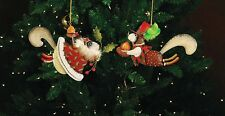 Patience Brewster - Tin Ornaments - Mr. & Mrs. Squirrel - 08-30428