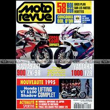 MOTO REVUE N°3149 KAWASAKI ZX-9R NINJA YAMAHA 1000 FZR HONDA VT 1100 SHADOW 1994