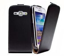 Samsung S7270 S7272 S7275 Galaxy Ace 3 - Housse Etui à Clapet Slim - NOIR