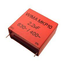 WIMA Impulsfester Polypropylen Kondensator MKP10 630V 2,2uF 37,5mm 089750