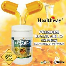 Healthway Premium Royal Jelly 1200mg. Supplements Fantastic Product 1 Box.