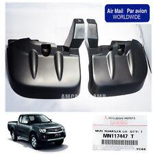 05-14 FIT Mitsubishi L200 Triton 3.2 4WD 4X4 FRONT MUD FLAP SPLASH GUARD GENUINE