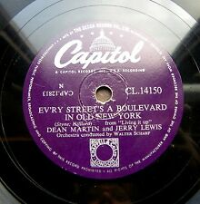 0856/DEAN MARTIN-How do you speak to an angel-JERRY LEWIS old New York-Schellack