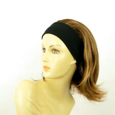 headband wig short blond copper wick clear ref: XENA 6bt27b