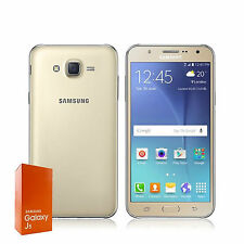 Brand New Samsung GalaxyJ5 8GB  13MP Simfree DUAL Sim SmartPhone Gold Colour