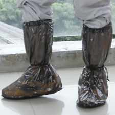 Waterproof Non-slip Rain Shoes Boots Covers for Motorcycle Bicycle Biker L