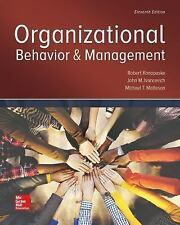 NEW - Organizational Behavior and Management