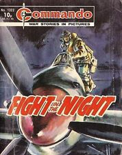 Commando For Action & Adventure Comic Book Magazine #1322 Fight Of The Night