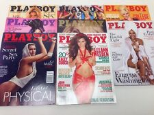 8  ISSUES OF PLAYBOY 2011-2015 MAGAZINES! A89