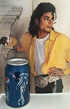 Michael Jackson Pepsi Cola Dose Bad25 Bad 25 Limited Edition Limitiert Rar Rare