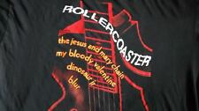The Jesus And Mary Chain - RARE! Original Rollercoaster Tour T-shirt  MBV / Blur