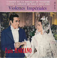 45TRS VINYL 7''/ FRENCH EP LUIS MARIANO / VIOLETTES IMPERIALES