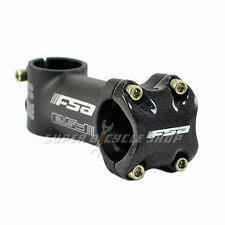 FSA OS-190 Carbon Front Cap Stem 31.8 x 100mm, Black