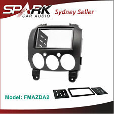 CP Mazda 2 FACIA KIT Panel Double 2 DIN Fascia Dash For 2007-2014