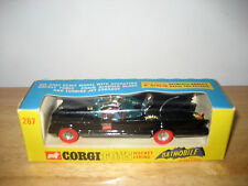 Rare Vintage 1972 Corgi 267 Red Tire Variant Batmobile Batman Car Original MIB