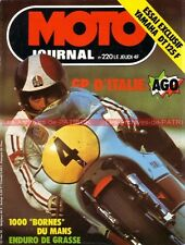 MOTO JOURNAL  220 YAMAHA DT 125 F , Grand Prix d'Italie Agostini 1975