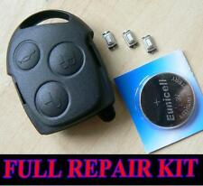 FORD Mondeo Fiesta Puma Focus KA TRANSIT REMOTE FOB KEY CASE FULL REPAIR KIT