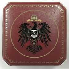 German Prussia Reich Eagle Royal Silver Coin Mark Thaler Case Presentation Box