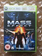 NEW FACTORY SEALED MASS EFFECT ORIGINAL RELEASE FOR XBOX 360