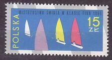 POLAND 1965 **MNH SC#1332 STAMP.  Finn Class Yachts