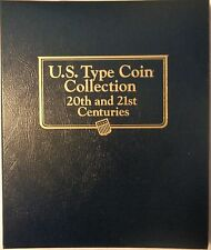 Whitman Classic Coin Album U.S Type Coins Collection 20th & 21st Centuries.