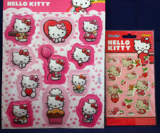 **HELLO KITTY 3D Sticker**,** HELLO KITTY Crystal-Glitzer-Sticker** Paniini**neu