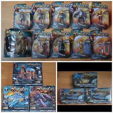 THUNDERCATS LOT of 16 MISB/MOC - 5 Vehicles 1 Playset 10 MOC Figures Bandai 2011