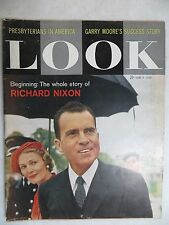 LOOK  MAGAZINE  June 9, 1959  Richard Nixon  GREAT VINTAGE ADS  Presbyterians