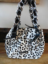 KAREN MILLEN PONYSKIN ANIMAL PRINT BAG