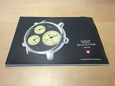 Used - Catalogue Catálogo GLYCINE - English - Watches Relojes - For Collectors