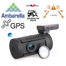 Mini 0826 Ambarella A7LA50 HD 1296P Car Dash Camera DVR Cam+CPL+GPS Logger Mount