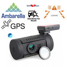 Mini 0826 Ambarella A7LA50 Super HD 1296P Car GPS Mount Dash Camera DVR Cam CPL