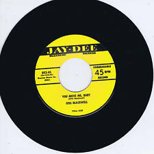OTIS BLACKWELL - YOU MOVE ME BABY / DADDY ROLLIN' STONE (Fab 50s R&B JIVER)
