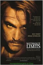 WITHOUT LIMITS  MOVIE POSTER 27x40 PREFONTAINE - BILLY CRUDUP